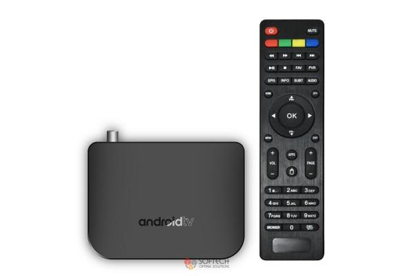 ТВ-приставка Mecool M8S Plus DVB T2 (1+8) EU