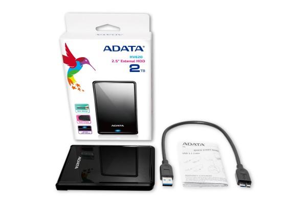 Внешний жесткий диск ADATA HV620 2TB