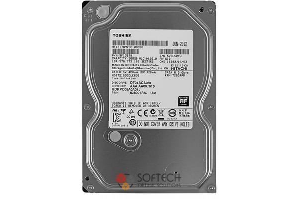 "Жесткий диск Toshiba 500ГБ 7200rpm SATAIII 3.5"" 32МБ cache"