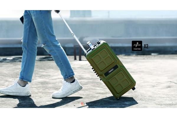 Беспроводная караоке-колонка чемодан Remax RB-X5