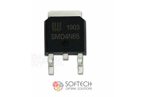 Микросхема SMD4N65