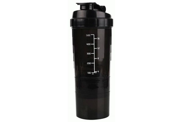 Шейкер трехкамерный Spider Sport Bottle 500ml