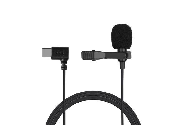 Петличный микрофон M1-B Type-C