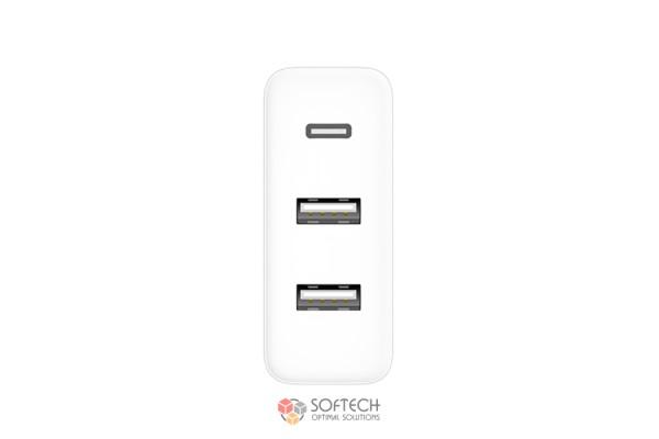 Зарядное устройство Xiaomi ZMI Fast Charging 65 Вт 2-USB+UCB-C