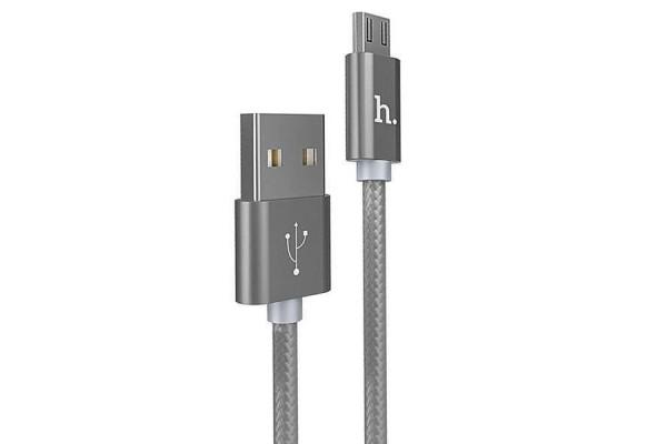 Кабель HOCO Micro USB X2