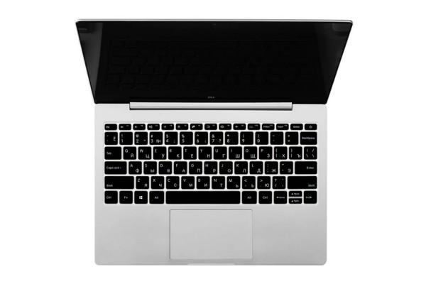 Накладка на клавиатуру Xiaomi черная с русскими буквами