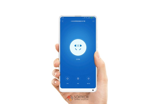 Умная розетка Xiaomi Mi Smart WiFi Socket (ZNCZ04CM)