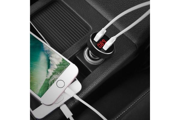 Aвтомобильное зарядное устройство Hoco Z26