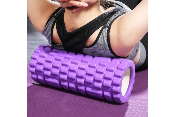 Массажный валик для фитнеса 45см