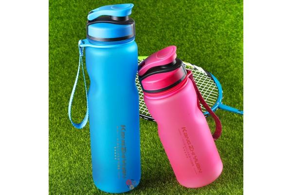 Бутылка для воды матовая 1000ml