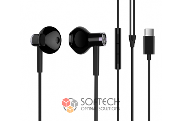 Наушники Xiaomi Dual-Unit Half-Ear Type-C