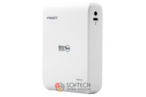 Внешний аккумулятор Power Bank Pisen 10000 mAh
