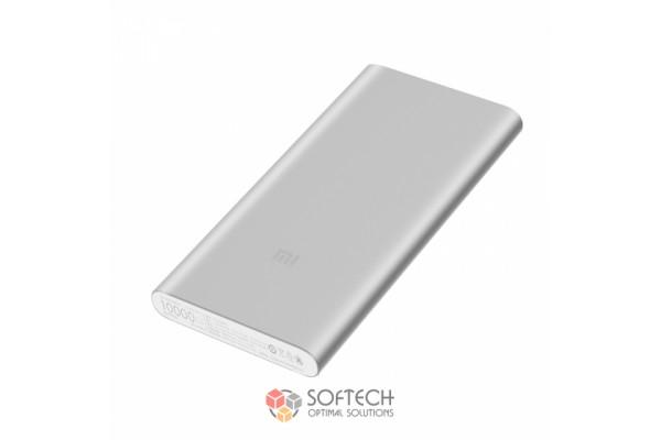 Внешний аккумулятор Xiaomi Mi Power Bank 2i 2USB 10000 mAh