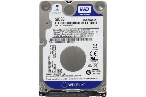 Жесткий диск Western Digital WD Blue Mobile 500 GB