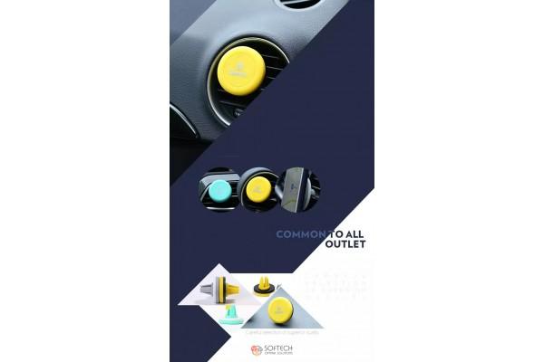 Автомобильный магнитный держатель Remax RM-C10