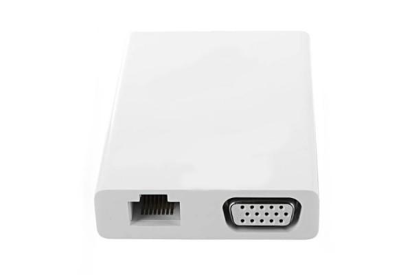 Адаптер Xiaomi Mi USB-C to VGA and Gigabit Ethernet Multi-Adapter