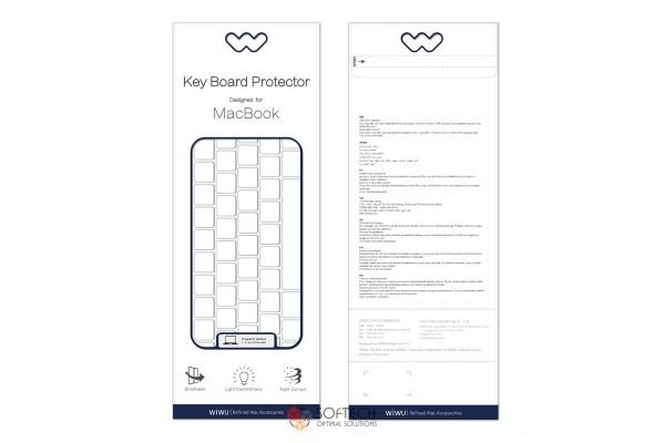 Накладка на клавиатуру Wiwu Keyboard Protector MacBook Air 13 (A1932), Pro 13/15 (A1425 / A1502 / A1398)