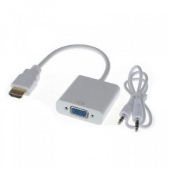 Адаптер HDMI на VGA с AUX кабелем