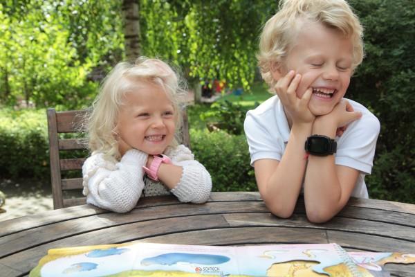 Детские часы с GPS трекером Elari FixiTime 3