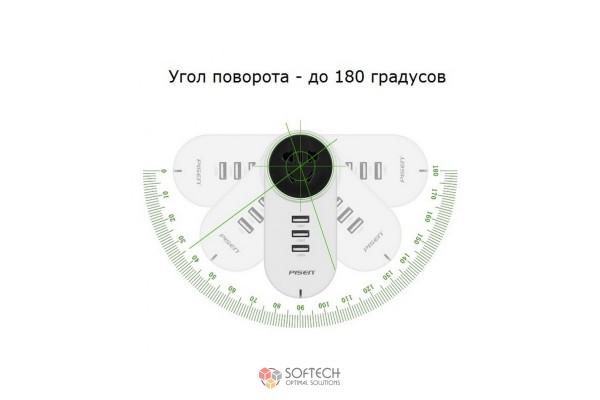 Smart розетка Pisen TS-C080 - 3 USB