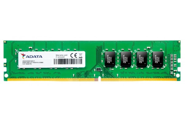 Оперативная память ADATA DDR-4  U-DIMM 8ГБ PC-19200 2400Mhz