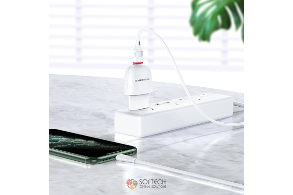 Зарядное устройство для iPhone Borofone BA49A