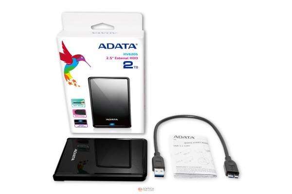Внешний жесткий диск ADATA HV620 500GB