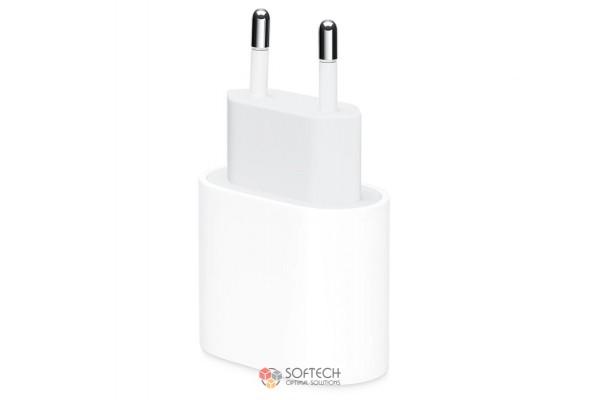 Зарядное устройство Apple 20W USB-C Power Adapter с кабелем USB-C to Lightning