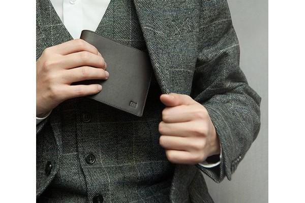 Кожаный кошелек Xiaomi