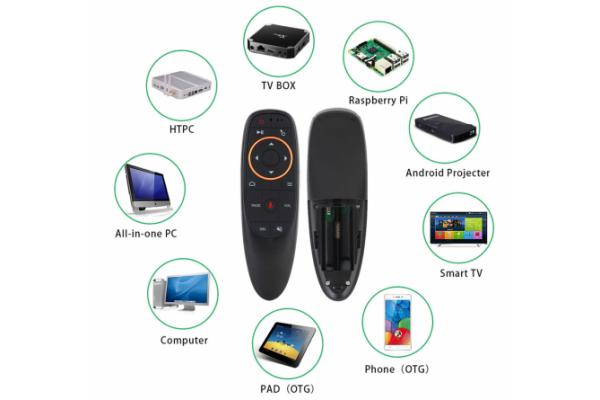 Аэро-мышь с микрофоном Air Mouse G10