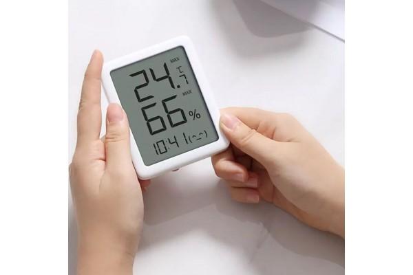 Комнатный Термометр/гигрометр Часы Xiaomi MiaoMiaoCe LCD