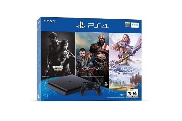 Игровая приставка Sony PlayStation 4 Slim 1TB + игра (The Last of US Remastered)