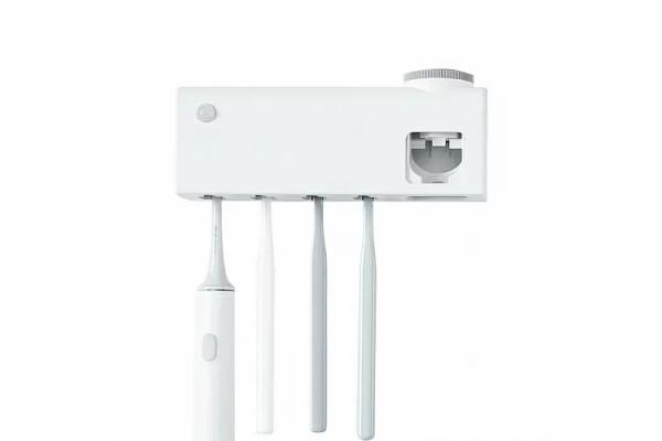 Дезинфицирующий держатель для зубных щеток Xiaomi Dr Meng Smart Disinfection Toothbrush Holder