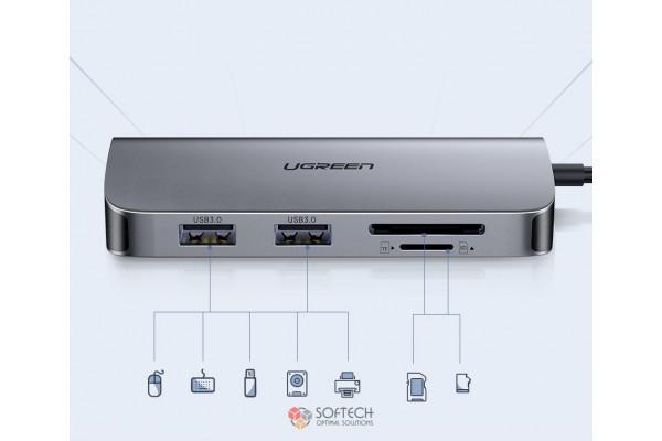 Универсальный адаптер UGreen Dock Adapter (CM212/50852)