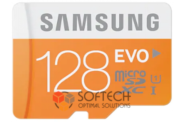Флешка Micro SDHC Card SAMSUNG 128GB EVO UHS-I class 10