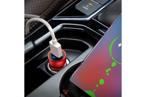 Aвтомобильное зарядное устройство Hoco Z32 QC 3.0 3A USB