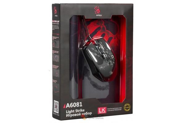 Игровая мышь A4Tech Bloody A6081 USB + Коврик