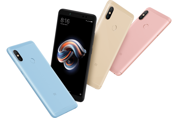 Смартфон Xiaomi Redmi Note 5 (4+64)