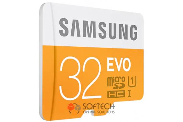 Флешка Micro SDHC Card SAMSUNG 32GB EVO UHS-I class 10