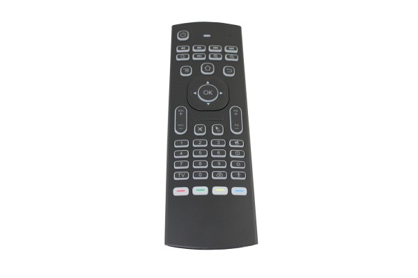 Аэро-мышь беспроводная мини-клавиатура MX3-M-L Air Mouse (2.4GHz)