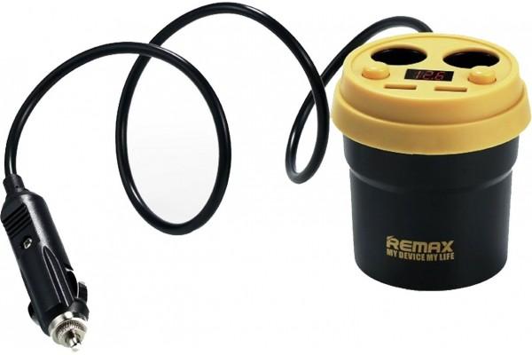 Авто зарядка в виде стакана Remax Coffee CR-2XP