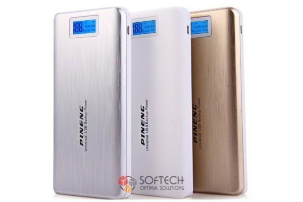 Внешний аккумулятор Power Bank Pineng PN-999 20000mAh