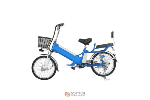 Электровелосипед с корзинкой 1 60V