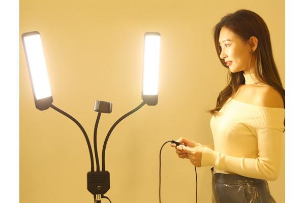 Кольцевой светильник для селфи (RK39)