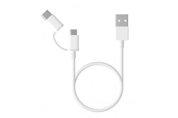 Кабель USB-Micro USB/Type-C 100 см