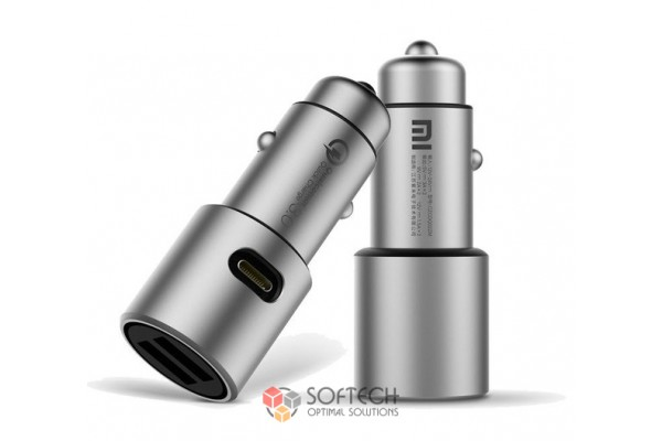 Авто зарядка Xiaomi Mi Car Charger QC 3.0