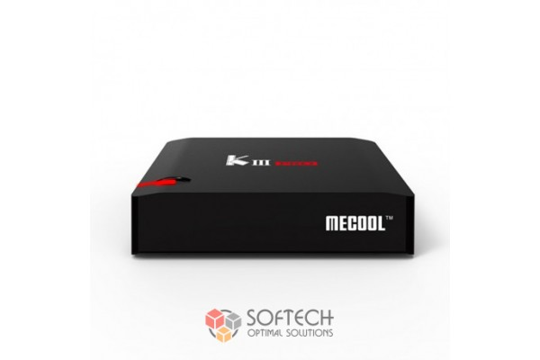 ТВ-приставка Mecool KIII Pro с тюнером DVB T2/S2 (3+16) EU