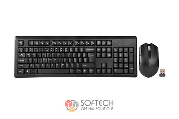 Клавиатура и мышь A4tech 4200N Wireless