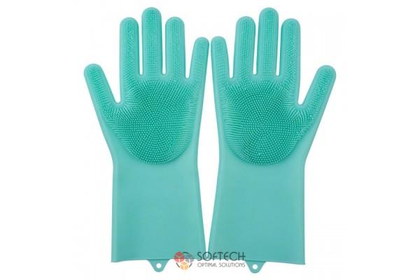 Силиконовые перчатки Xiaomi Jordan&Judy Silicone Gloves