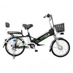Электровелосипед с корзинкой усиленный 60V10A